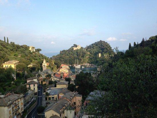 B&B Tre Mari Portofino: Vy från takterassen