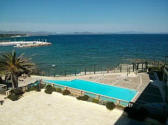 Aquamarina Hotel: View from the room balkony