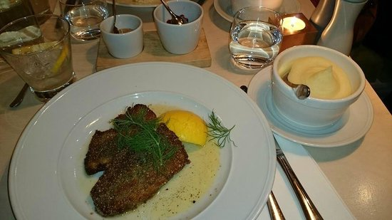 Tradition: mustard mackerel with mash