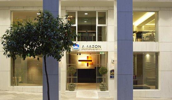 Best Western Amazon Hotel : Main entrance