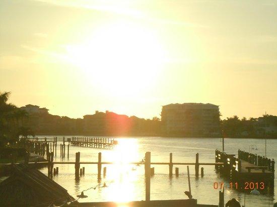 Snook Inn : great sunset