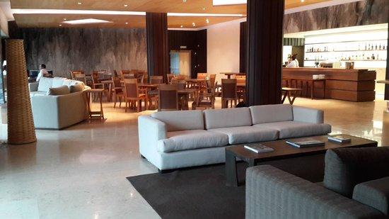 Arakur Ushuaia Resort & Spa: Lobby and Lobby Bar