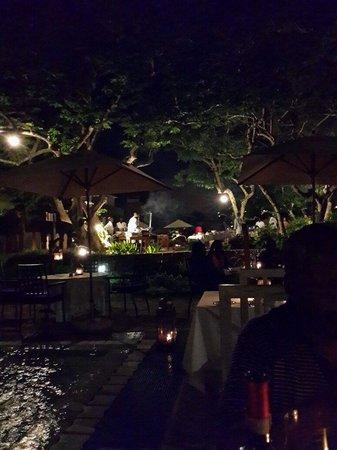 Medina Palms: The garden set up devine