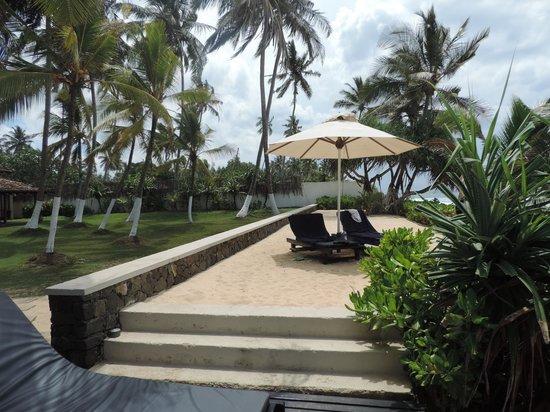 Apa Villa Thalpe : Our favorite spot.