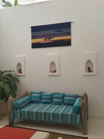 Medina Palms: The sitting area
