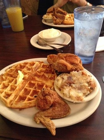 Thelma's Chicken & Waffles: Just add maple syrup