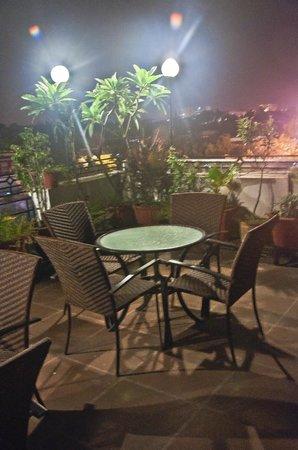 Hotel Swati Deluxe: Terrace Garden