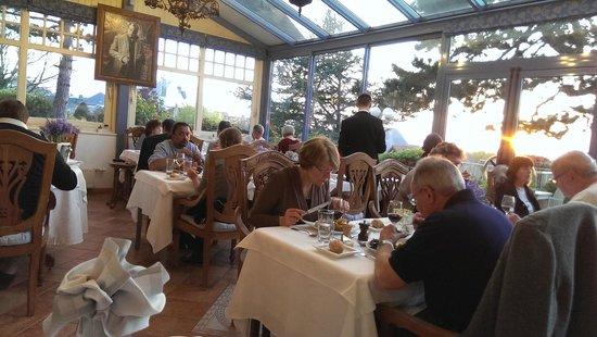 Hotel Restaurant Le Bellevue : restaurant