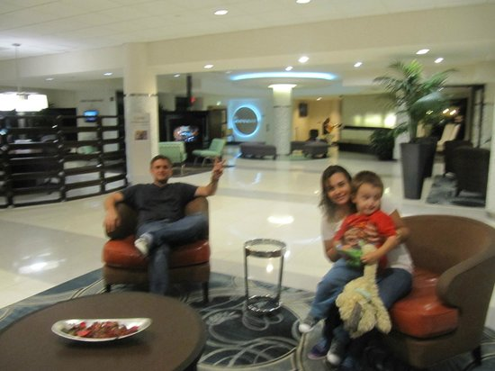 Sheraton Miami Airport Hotel & Executive Meeting Center: Lobby del hotel