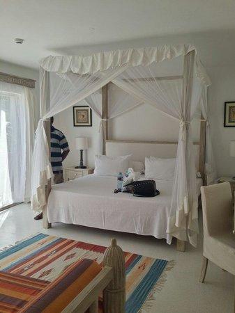 Medina Palms: The bedroom. .....
