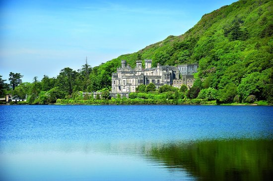 Kylemore Abbey is 15 minutes drive from the Clifden Station House