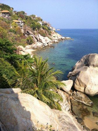 Jamahkiri Resort & Spa : View from our room - 304