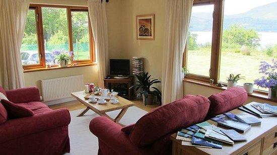 Craigrowan: sitting room at ground level