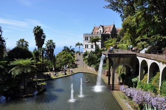 Monte Palace Tropical Garden : Monte