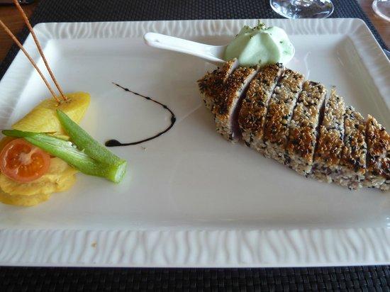 La Savane: Pavé thon rouge au sésame