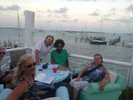Exuma Yacht Club: Great view from the patio