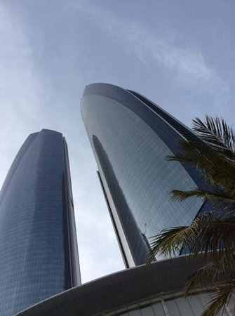 Jumeirah at Etihad Towers : view from the beach