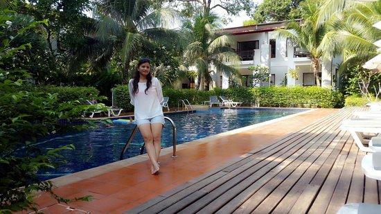 Duang Jai Resort: View from swimming pool