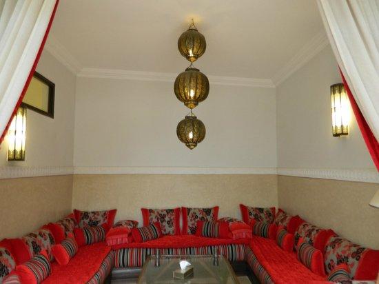 Riad Badi : Lounge Area