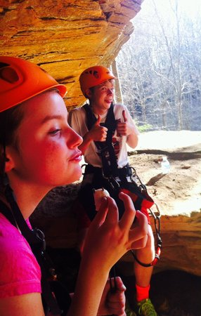 Soaring Cliffs Zip Line Course: Great times at Soaring Cliffs!!!