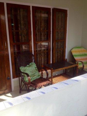 Pappukutty Beach Resort: Балкон моего номера