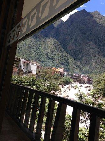 SUMAQ Machu Picchu Hotel: Vista da janela do quarto