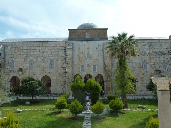 Isa Bey Mosque: Main view