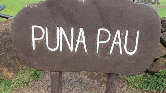 Puna Pau: 看板