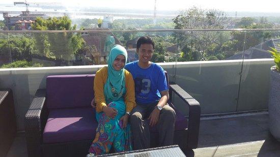 Amaroossa Suite Bali: Area paling atas... Very good view