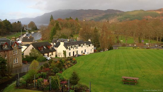 The Lovat, Loch Ness : View of Loch Ness from The Lovat