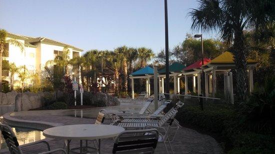 Legacy Dunes: pool side cabanas