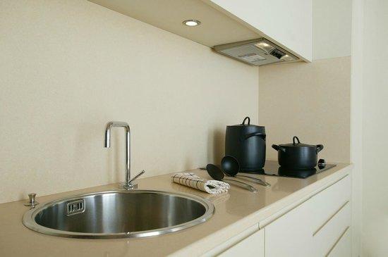 Residenza Ascanio Sforza: Cucina - Kitchenette