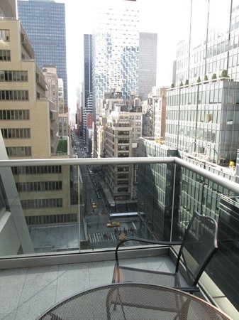 The Gotham Hotel: View from balcony