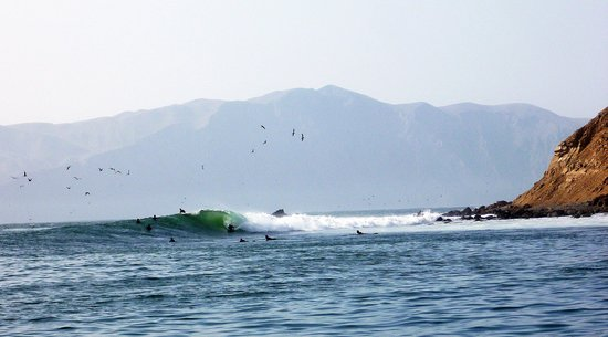 San Gallan Xpeditions: The surf spot