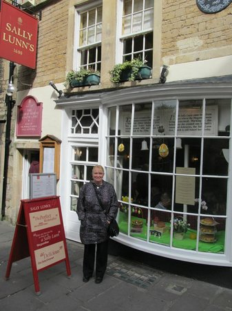 Sally Lunn's Historic Eating House & Museum : Outside