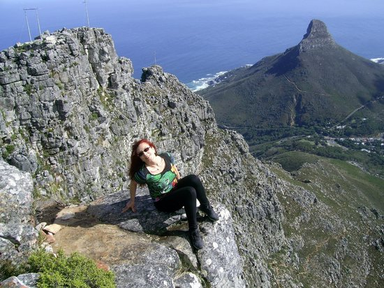 Hike Table Mountain: View to the bay