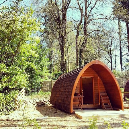 Langstone Manor Holiday Park & Cottages: Crow Tor Pod