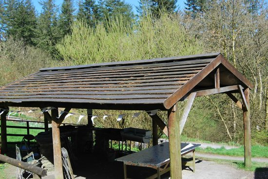 Marthrown of Mabie : Covered BBQ area