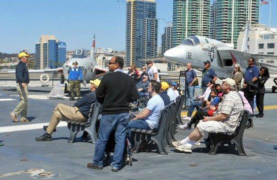 Musée de l'USS Midway : Pilots talked of their experiences