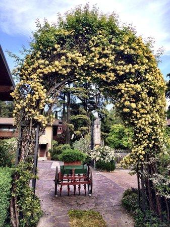 Ristorante Borgo alla Quercia: Сад