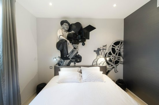 Ideal Sejour Hôtel: Chambre 29: Silence on tourne !