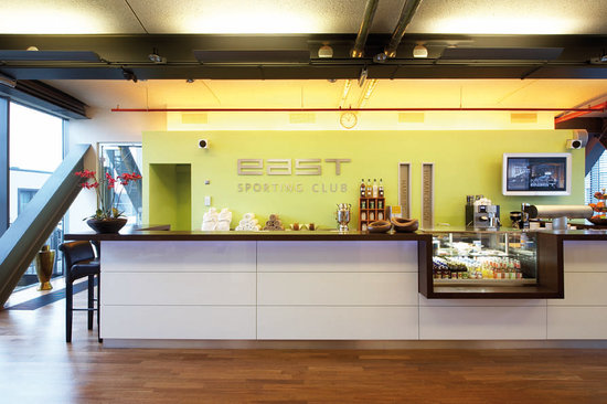 east Design Hotel Hamburg: east Sporting Club