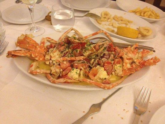 La Taverna trattoria : Aragosta alla Catalana deliziosa