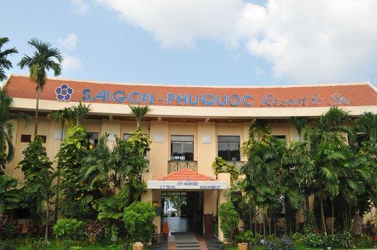 Saigon Phu Quoc Resort: Accueil