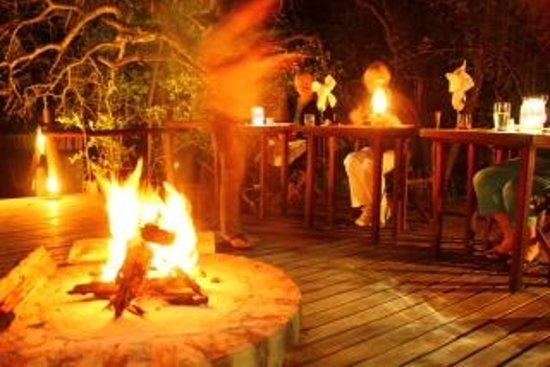 Shikwari Game Reserve: Braai night