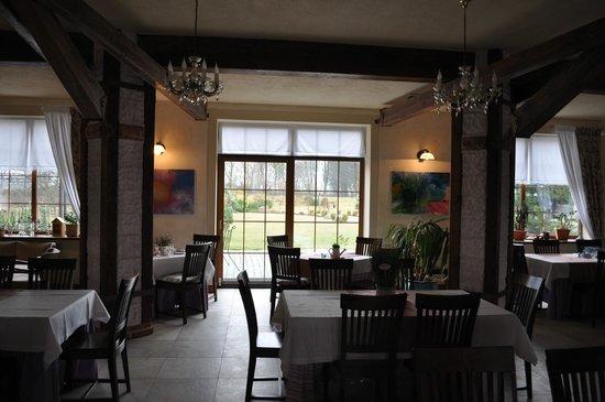 The Rega Manor: Sala restauracyjna
