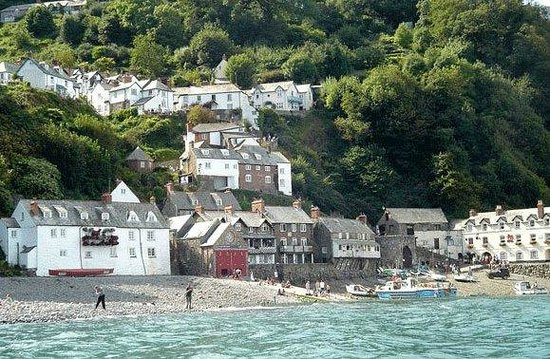 Clovelly Village, North Devon, England.