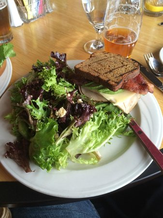 Riverside: Roast Turkey BLT on Gluten-free multi-grain bread