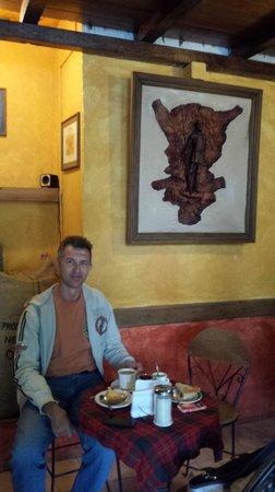 Axkan Arte Hotel: Местное кафе