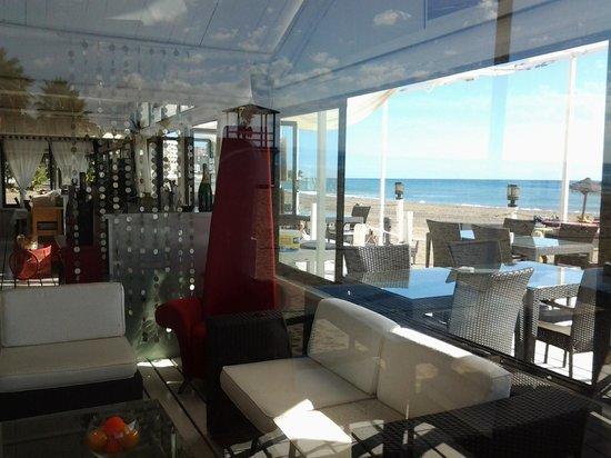Bikini beach lounge